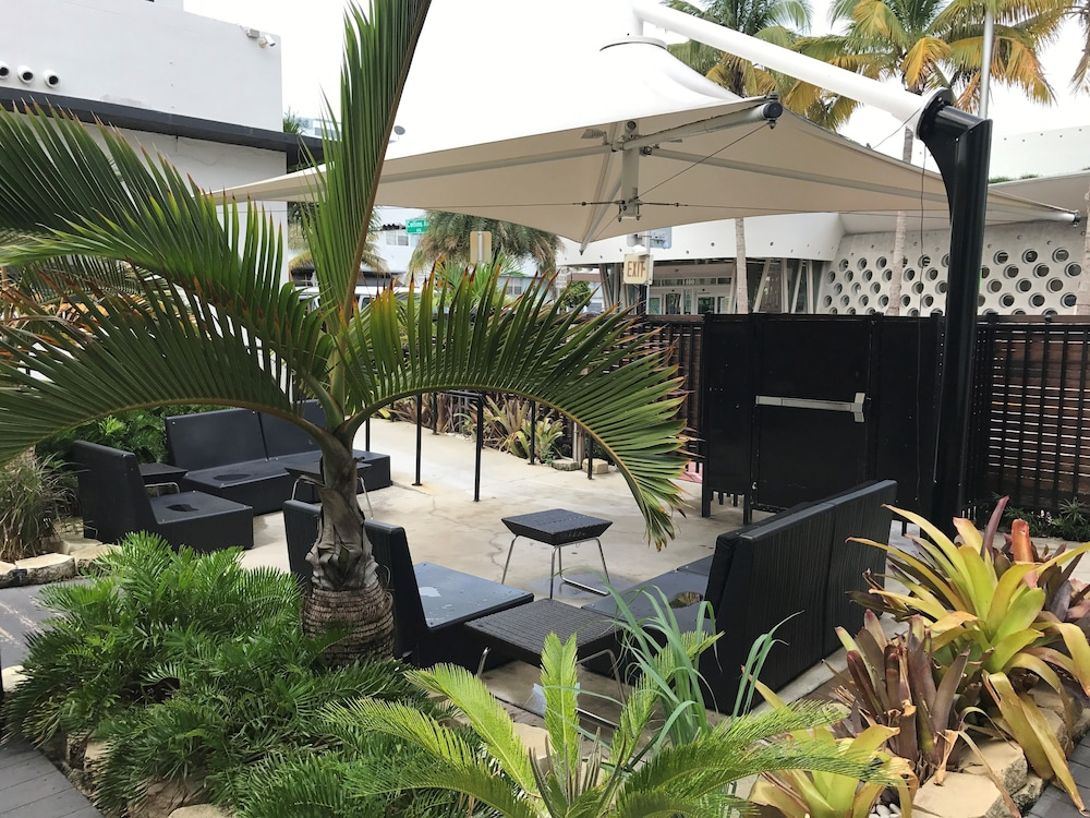 Terrace/Patio, South Beach Plaza Hotel