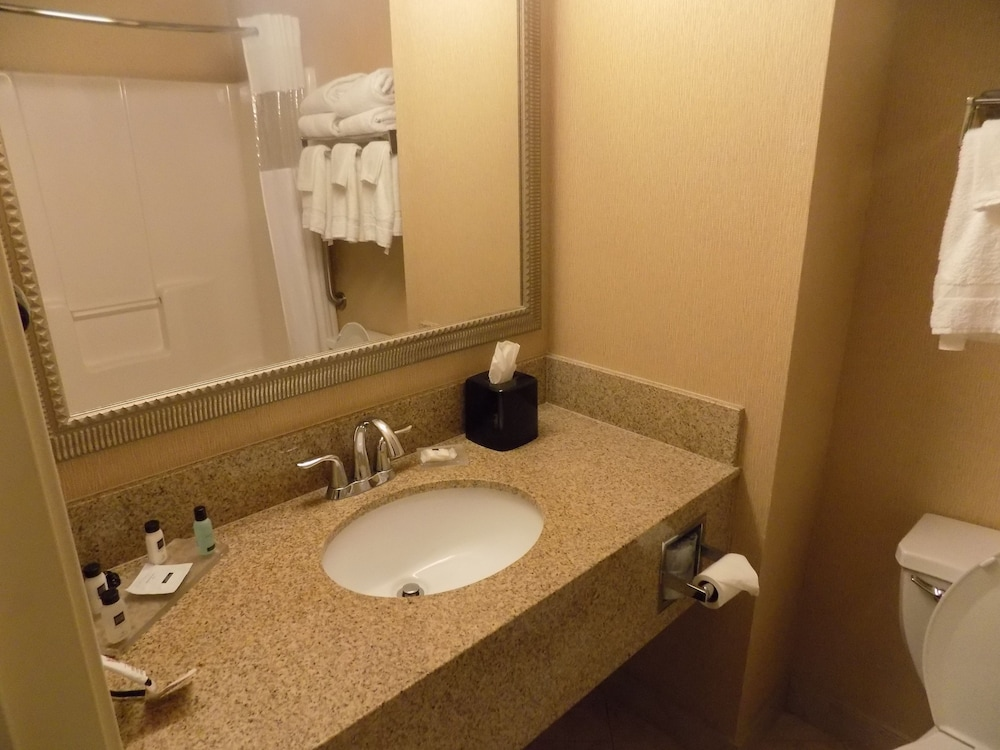 Bathroom, Country Inn & Suites by Radisson, Evansville, IN