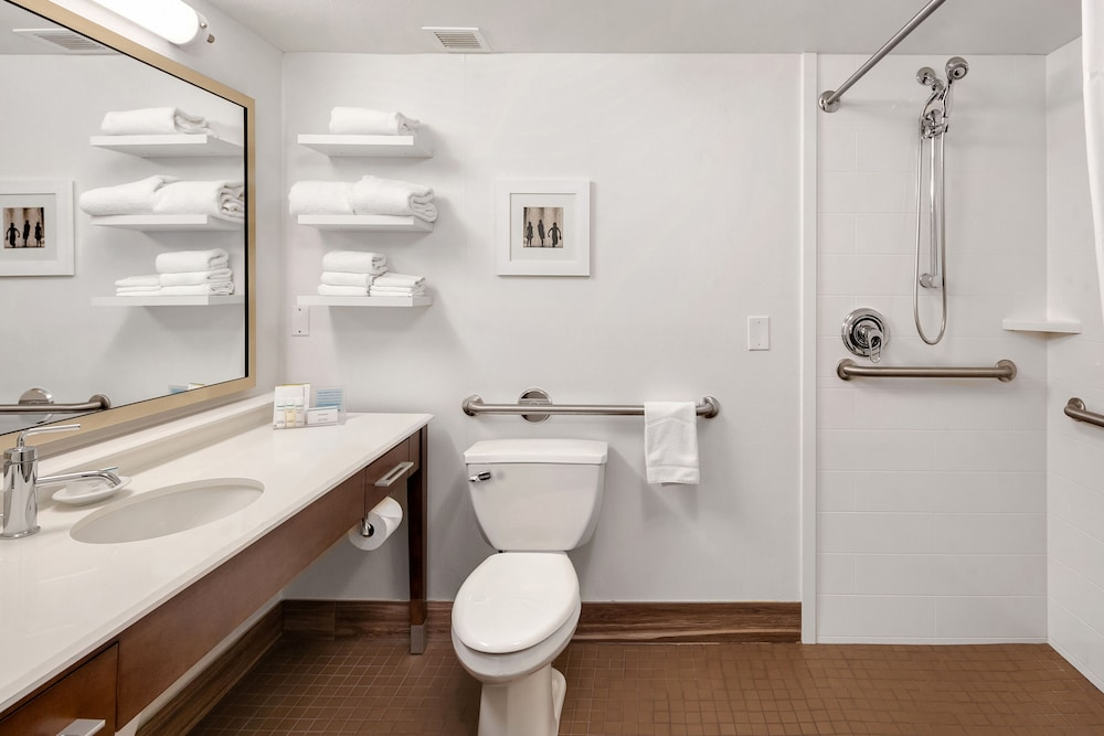 Bathroom, Hampton Inn & Suites Seattle North - Lynnwood