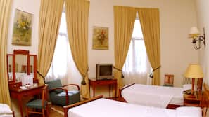 In-room safe, blackout drapes, soundproofing, iron/ironing board