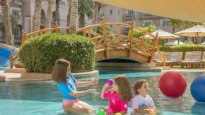 6 outdoor pools, pool cabanas (surcharge), pool umbrellas