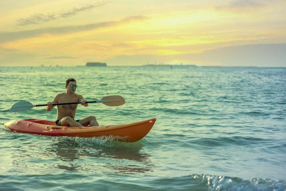 Kayaking, The Ritz-Carlton, Dubai