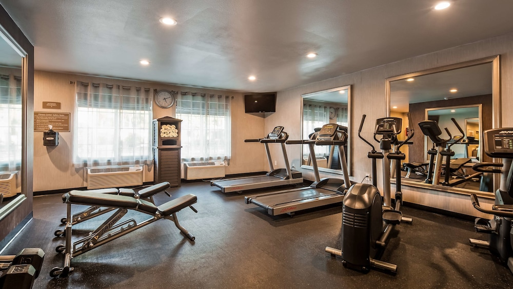Fitness Facility, Best Western University Inn Santa Clara