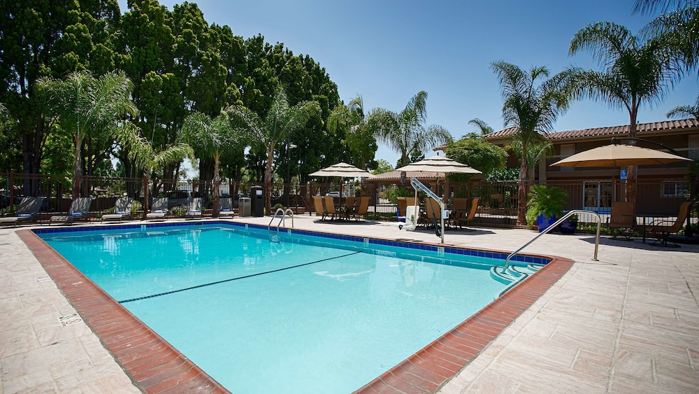 Outdoor Pool, Best Western University Inn Santa Clara