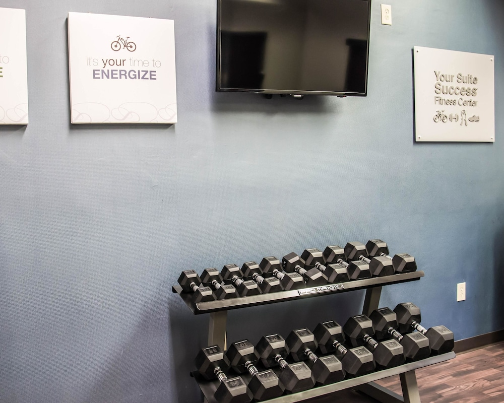 Fitness Facility, Comfort Suites University - Research Park