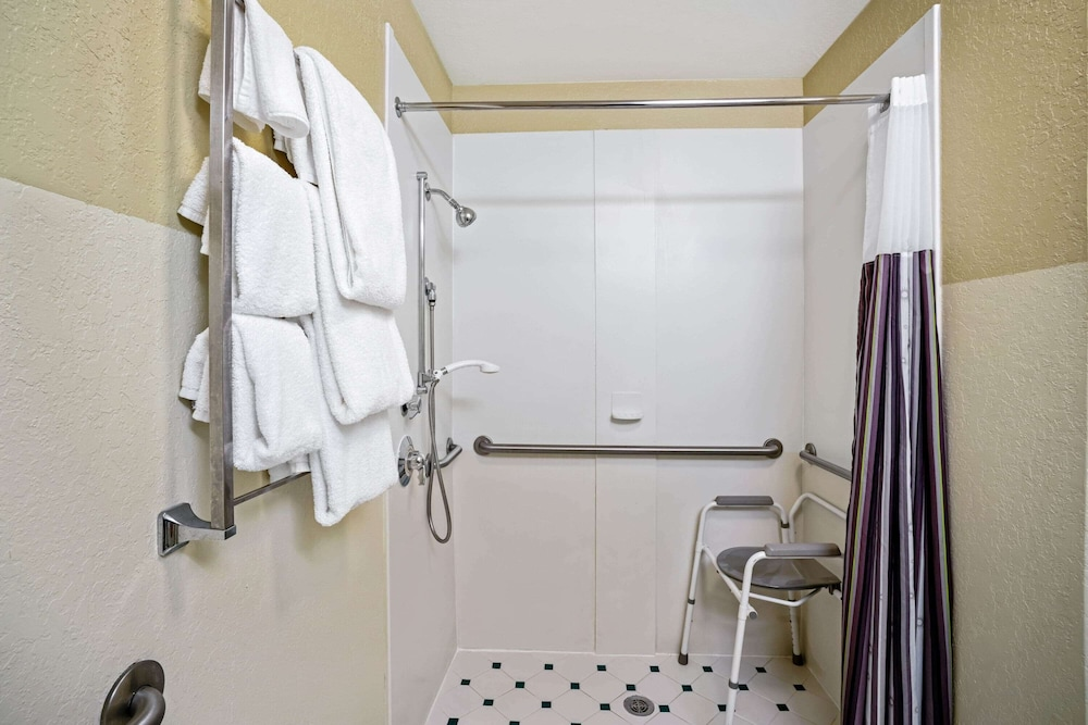 Bathroom Shower, La Quinta Inn & Suites by Wyndham Memphis Primacy Parkway