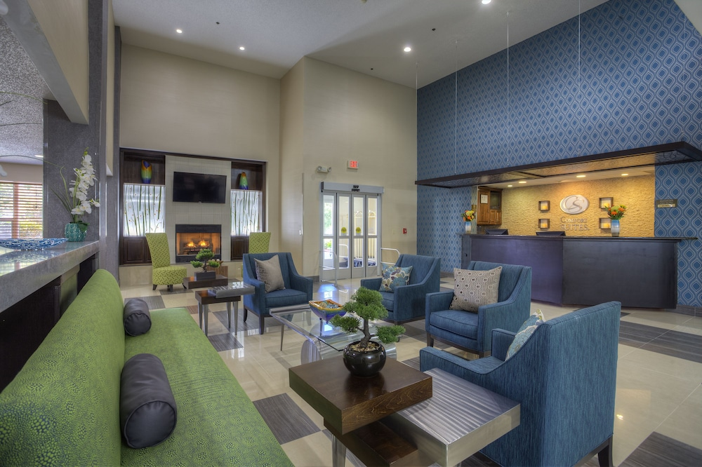 Reception, Comfort Suites Pineville - Ballantyne Area