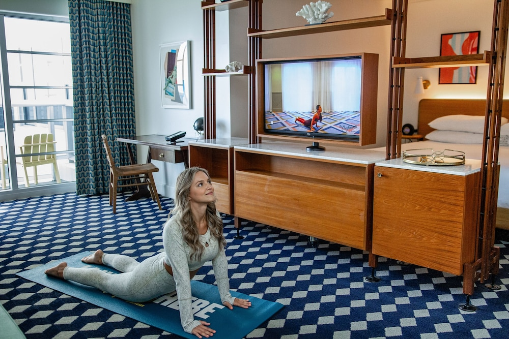 Yoga, The Confidante Miami Beach, part of Hyatt