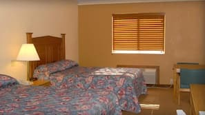 Free WiFi, bed sheets, wheelchair access