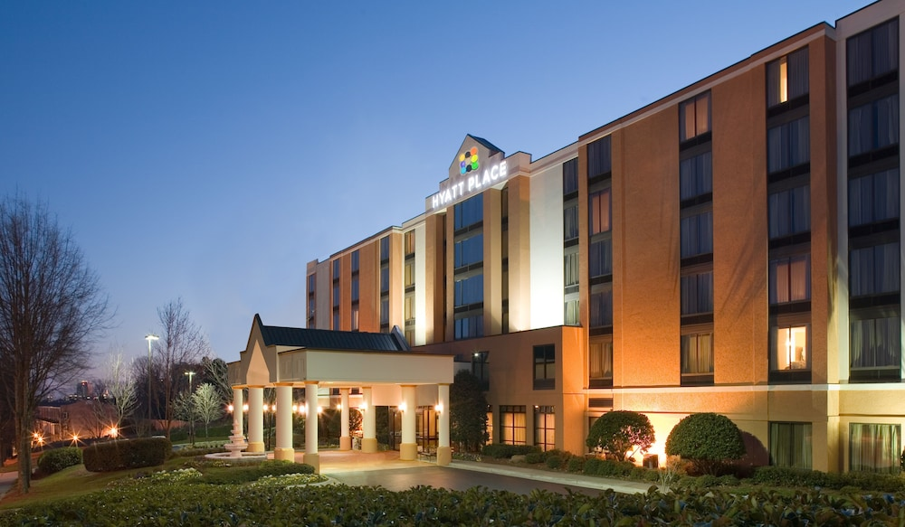 Front of Property - Evening/Night, Hyatt Place Sacramento/Rancho Cordova