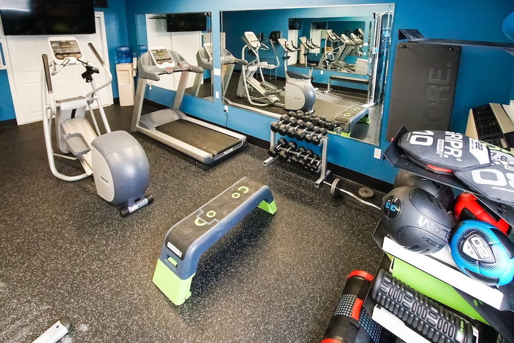 Gym, Riverview Resort, a VRI resort