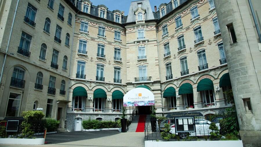 Hôtel Concordia Le Mans Centre gare