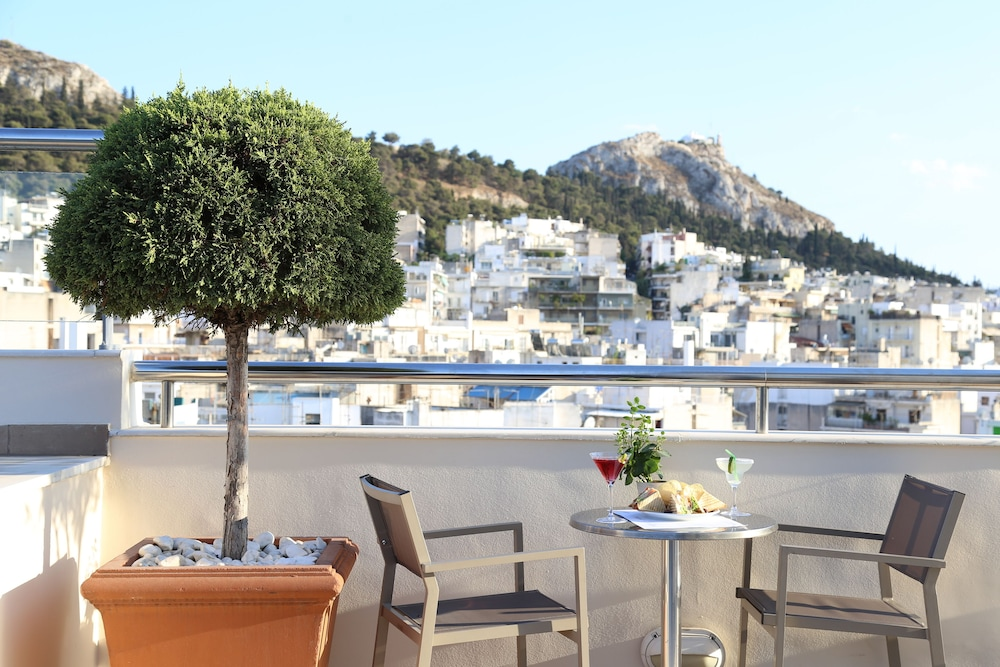 View from Property, Athens Zafolia Hotel