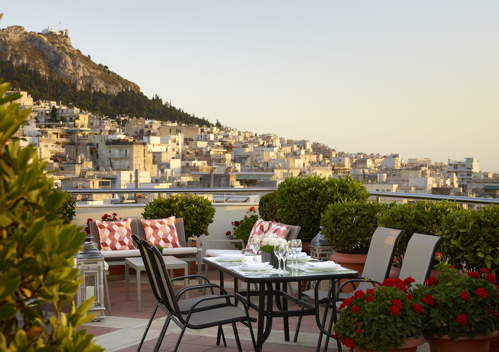 Outdoor Dining, Athens Zafolia Hotel