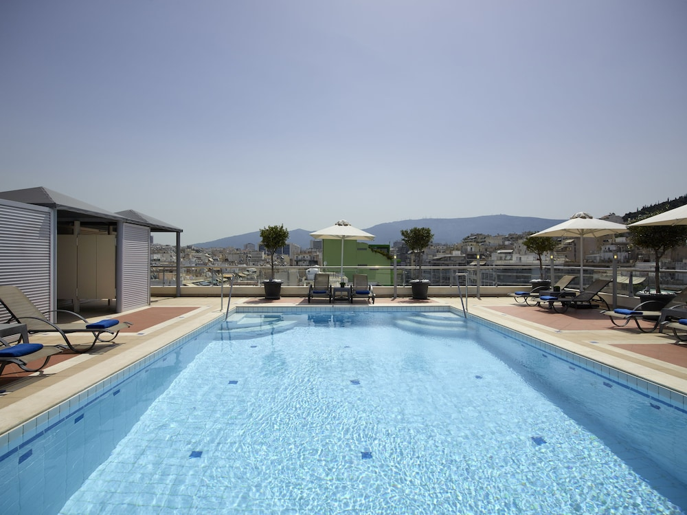 Rooftop Pool, Athens Zafolia Hotel