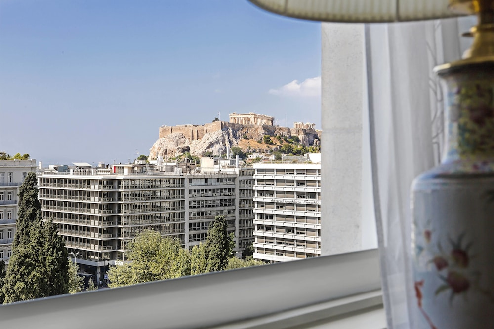 View from Room, Hotel Grande Bretagne, a Luxury Collection Hotel, Athens
