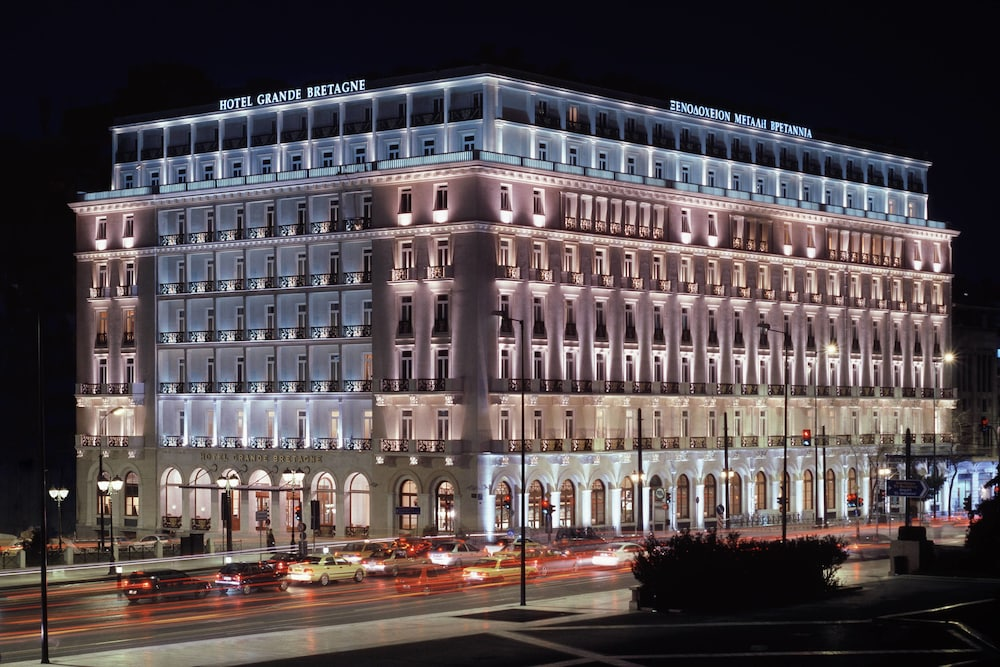 Exterior, Hotel Grande Bretagne, a Luxury Collection Hotel, Athens
