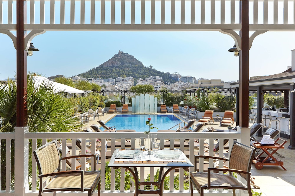 Outdoor Pool, Hotel Grande Bretagne, a Luxury Collection Hotel, Athens