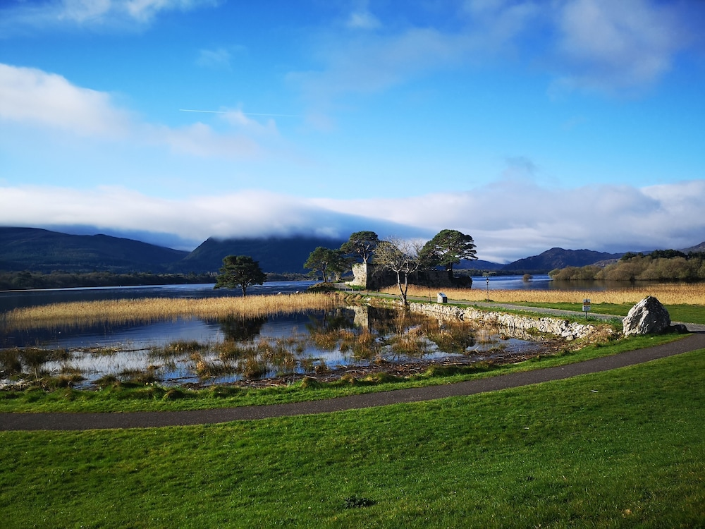 View from Room, The Lake Hotel Killarney