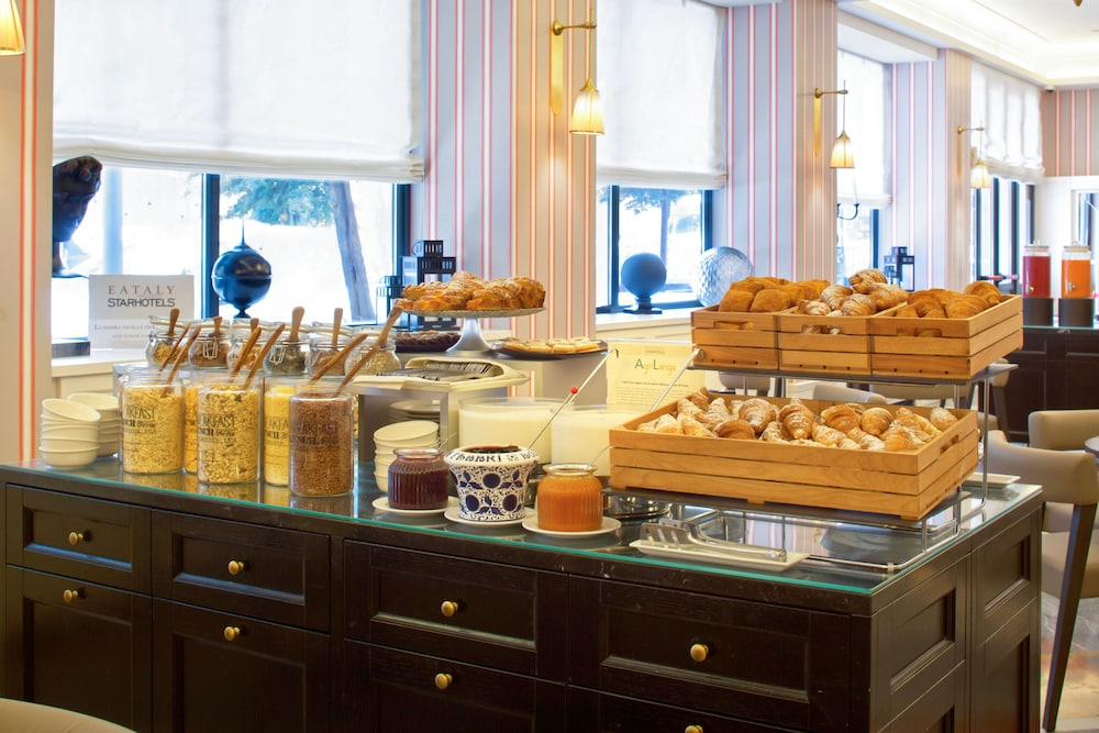 Breakfast buffet, Starhotels Michelangelo