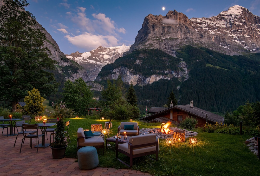 Terrace/Patio, Sunstar Hotel Grindelwald