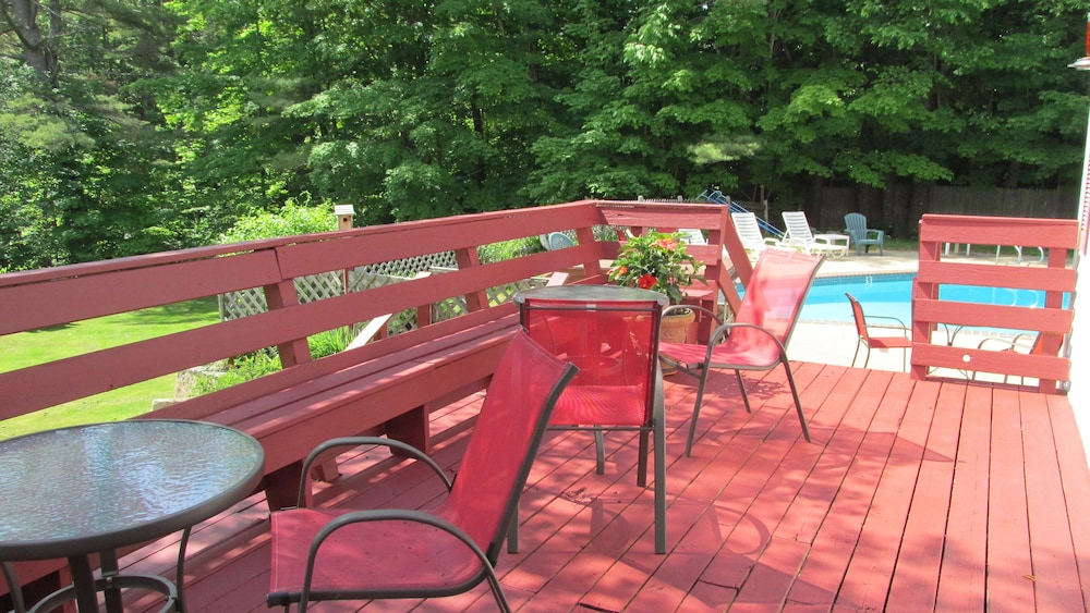 Terrace/Patio, Cranmore Mountain Lodge Bed & Breakfast