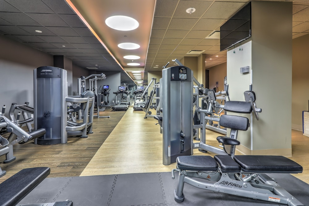 Gym, Ocean Place Resort And Spa