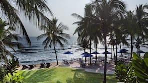 บนชายหาด, ผ้าเช็ดตัวชายหาด, นวดบนชายหาด