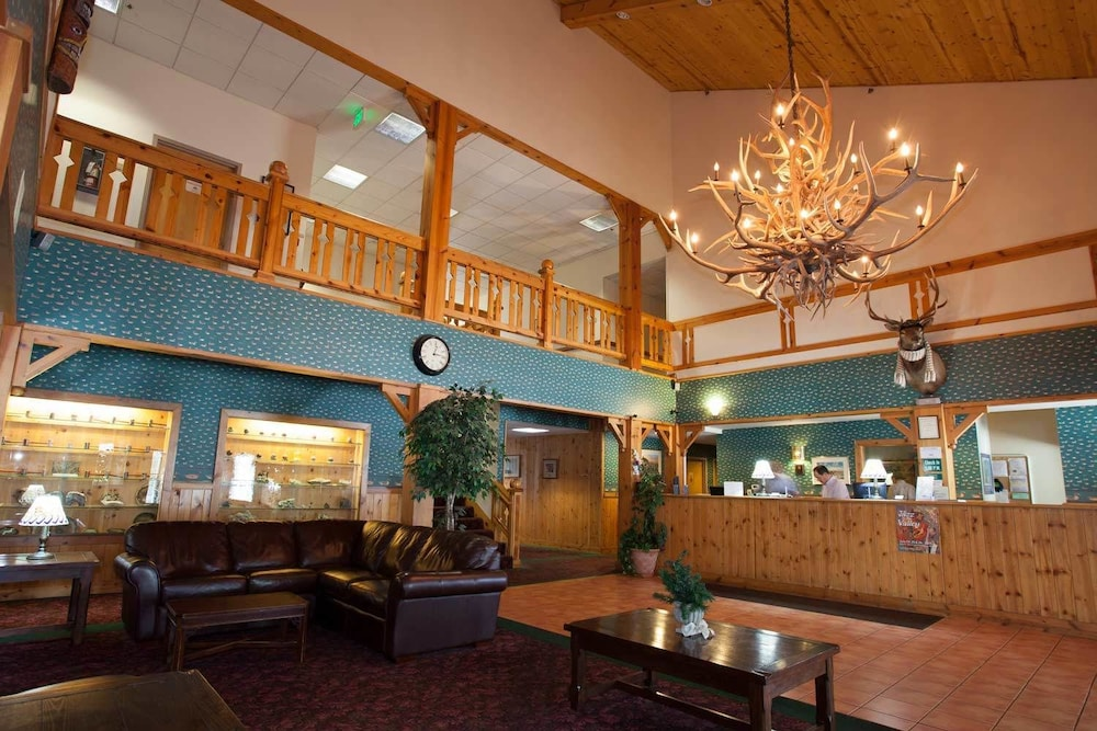 Reception, Summit Inn