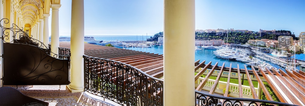 View from Room, Hôtel Hermitage Monte-Carlo