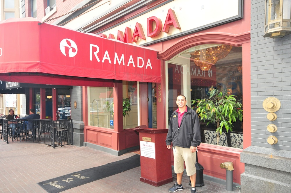 Front of Property, Ramada by Wyndham Gaslamp Convention Center