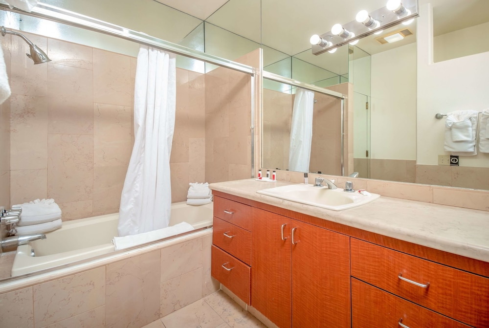 Bathroom, Ramada by Wyndham Gaslamp Convention Center