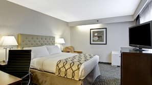 Premium bedding, down duvet, in-room safe, individually decorated