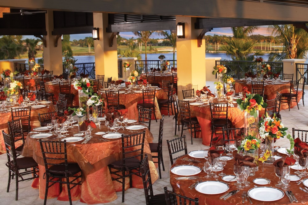 Outdoor Banquet Area, PGA National Resort and Spa