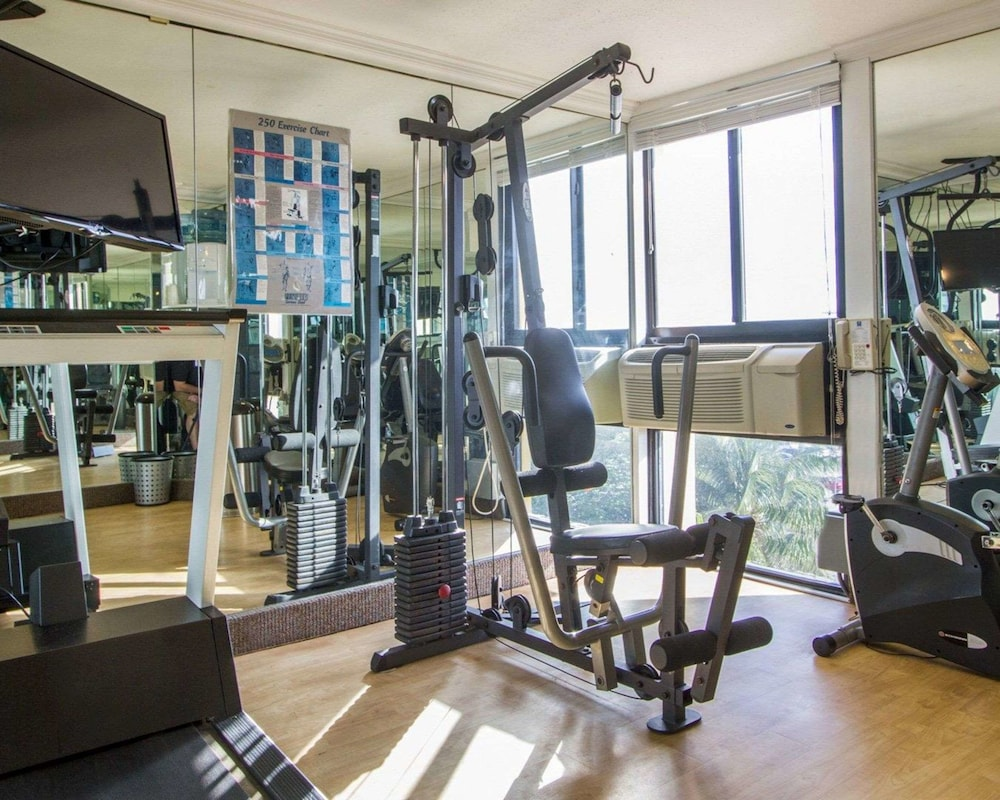 Fitness Facility, Comfort Inn Oceanside Deerfield Beach