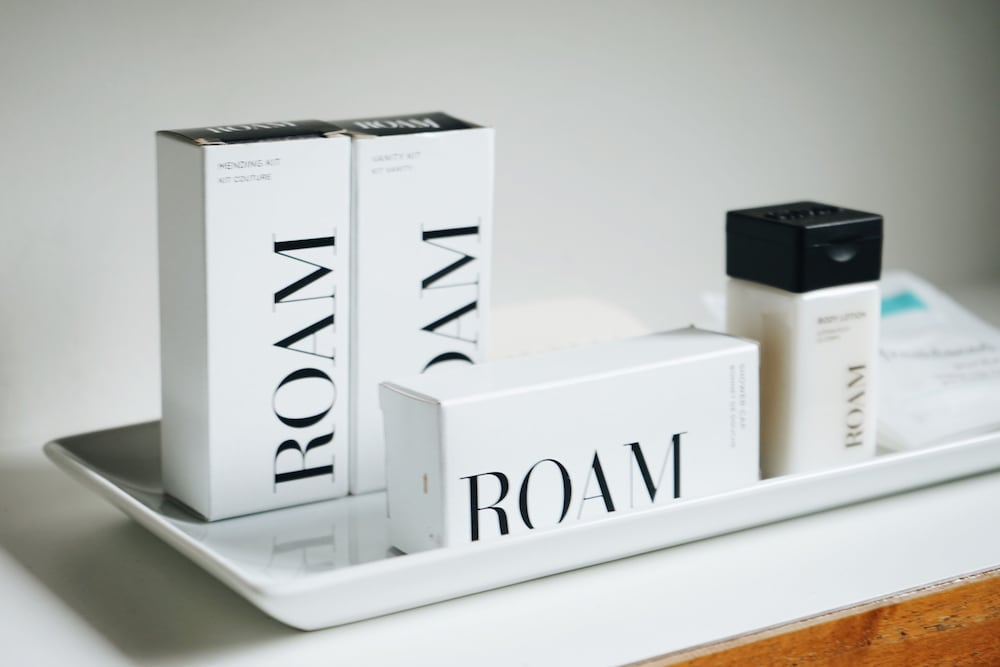 Bathroom Amenities, Modern Hotel