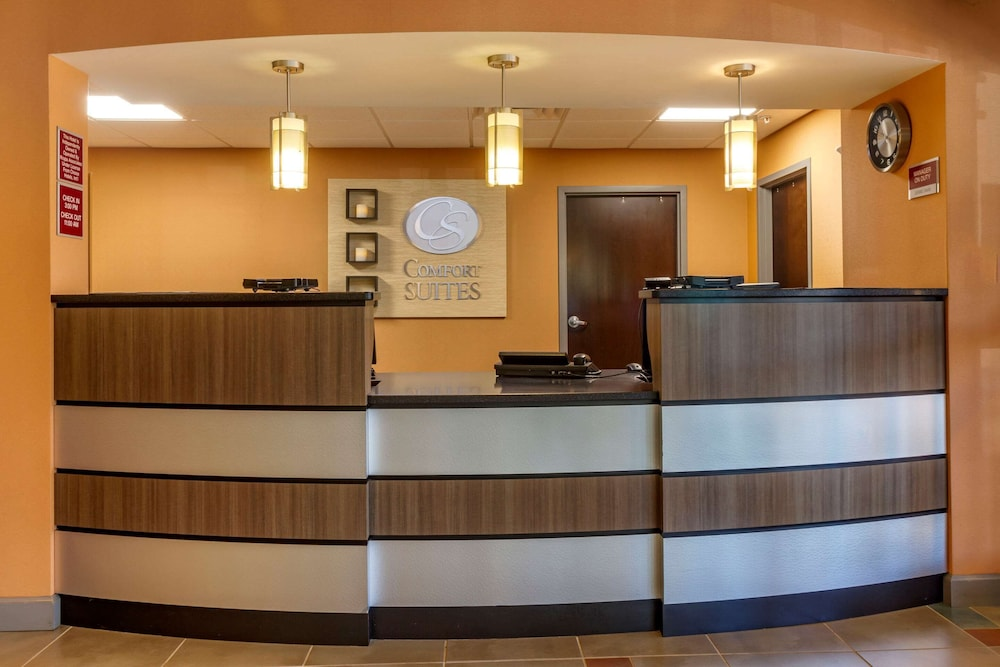 Lobby, Comfort Suites Knoxville West - Farragut