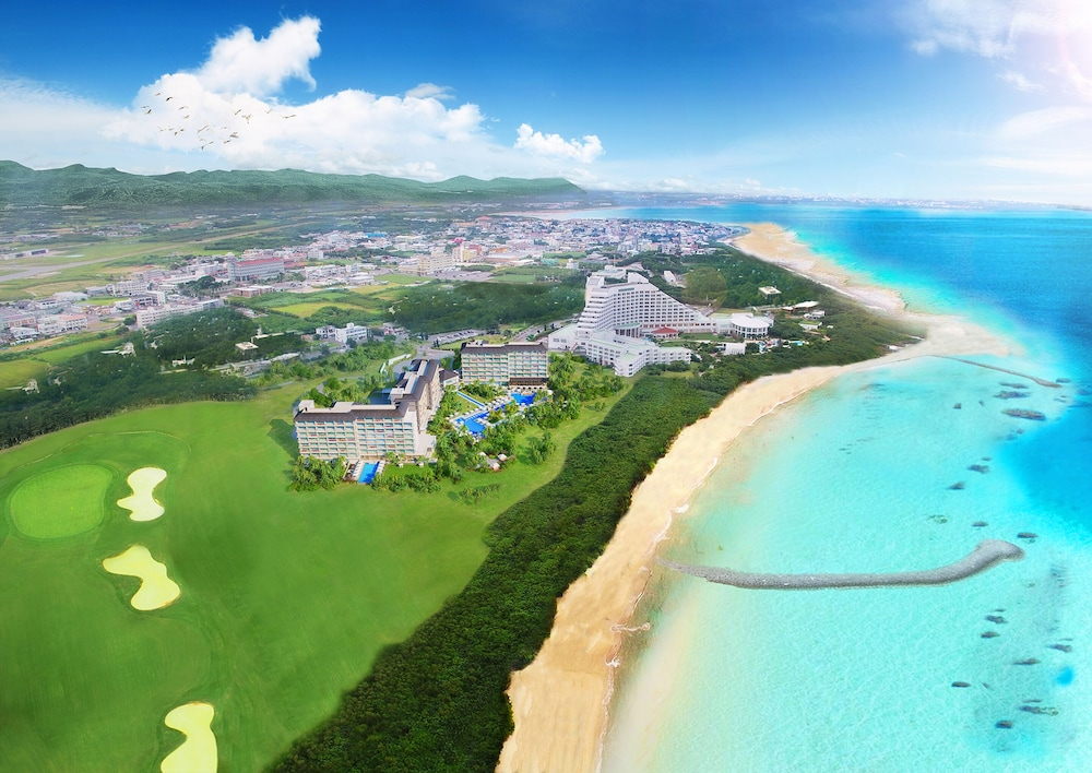 Aerial View, InterContinental ANA Ishigaki Resort