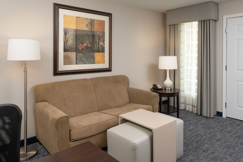 Living Area, Homewood Suites by Hilton Chicago - Schaumburg