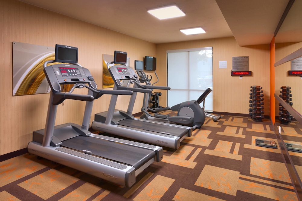 Gym, Fairfield Inn and Suites by Marriott Salt Lake City Downtown