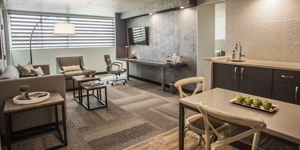 Living Area, The Rushmore Hotel & Suites, BW Premier Collection