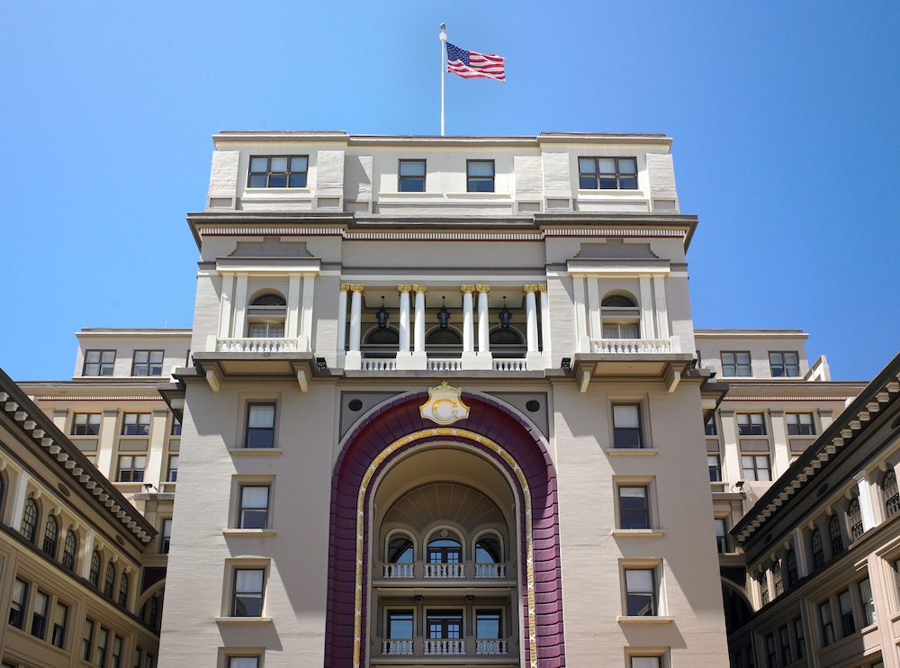 Exterior detail, THE US GRANT, a Luxury Collection Hotel, San Diego
