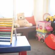 Lekområde för barn inomhus