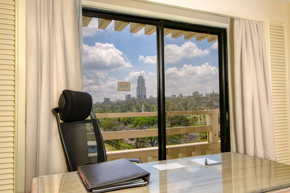 View from Room, InterContinental Nairobi