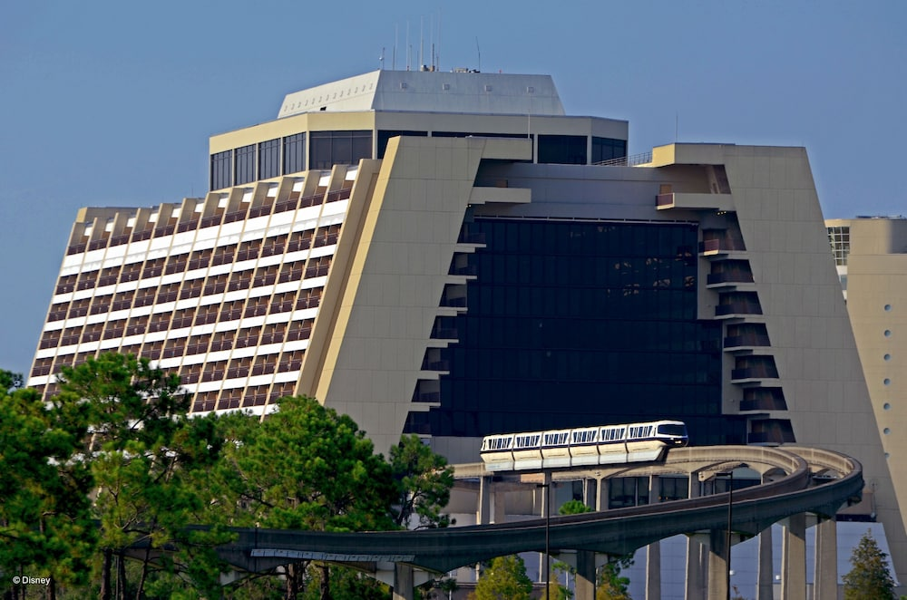 Exterior, Disney's Contemporary Resort