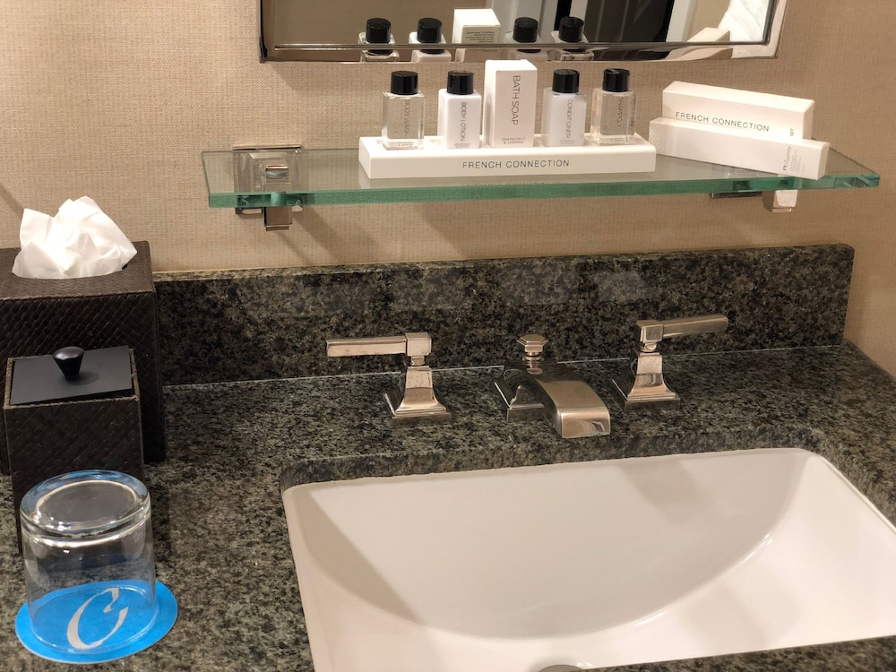 Bathroom Sink, Cupertino Hotel