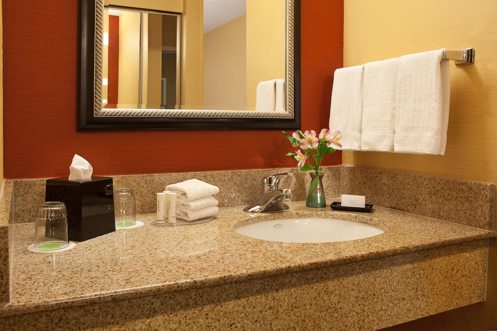 Bathroom, Courtyard by Marriott Spokane Downtown at the Convention Ctr