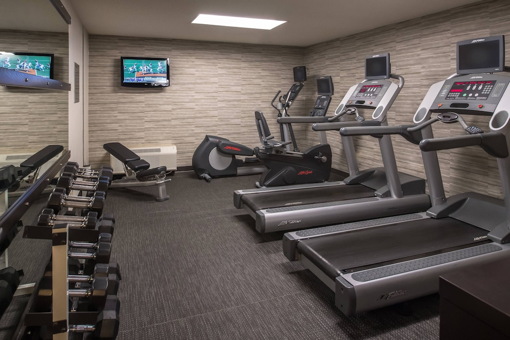 Fitness Facility, Courtyard by Marriott Spokane Downtown at the Convention Ctr