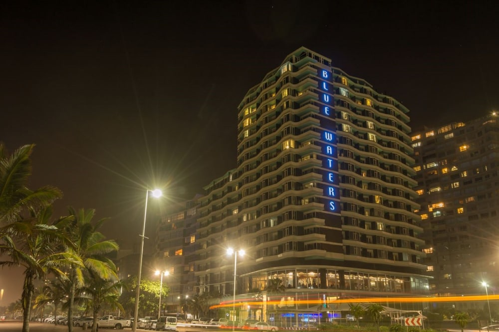 Front of Property - Evening/Night, The Blue Waters Hotel