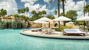 Indoor pool, open 9:00 AM to 7:00 PM, pool cabanas (surcharge)